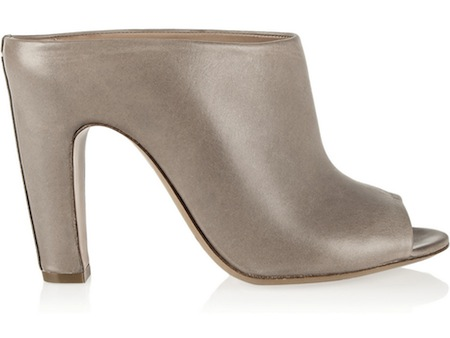 High-Heeled Mules - Spring's Go To Shoe