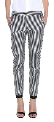 Railroad Stripe Jeans