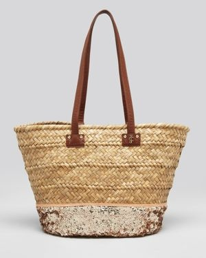 Juicy Straw Beach Tote