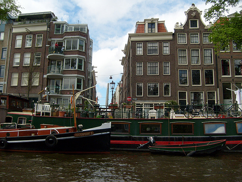 amsterdam boat photo