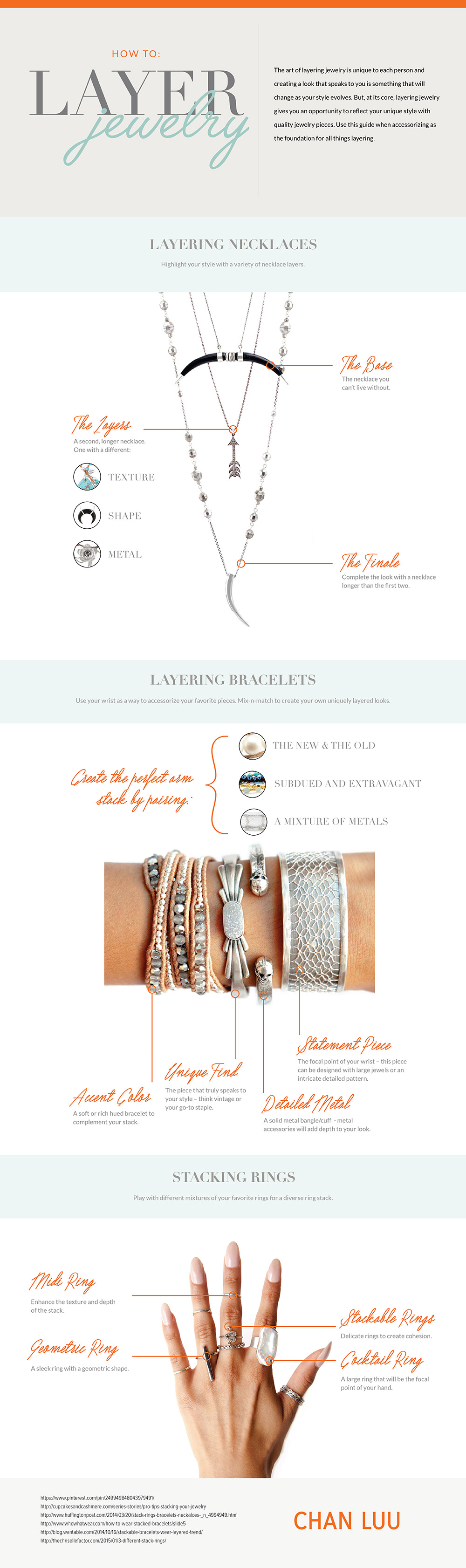 The Art of Layering Jewelry