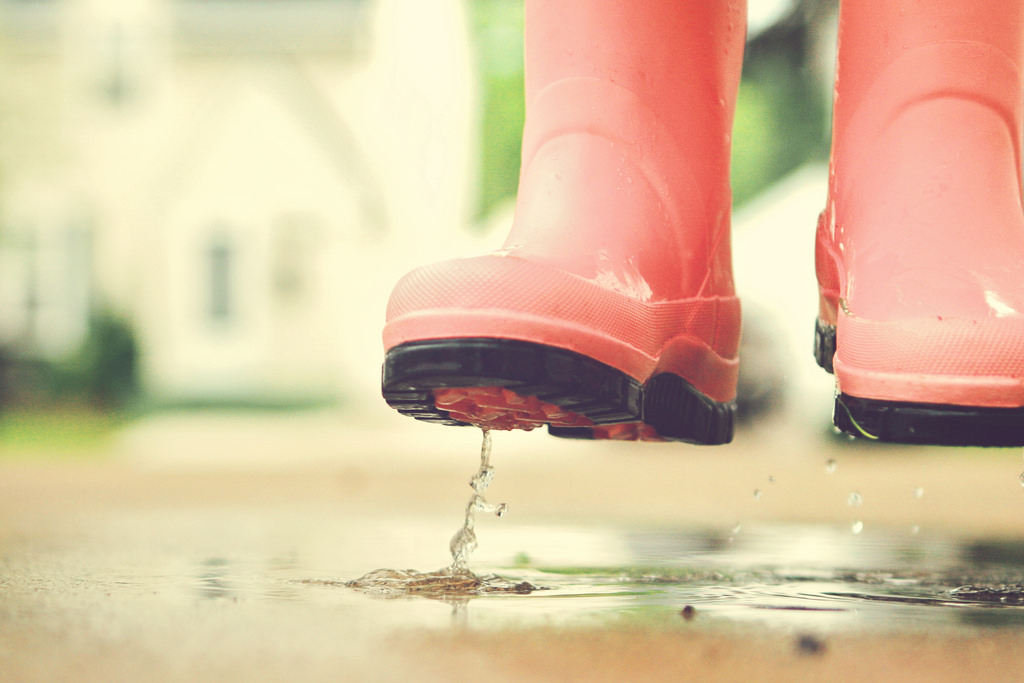 This Season's Hottest Rainboot Options