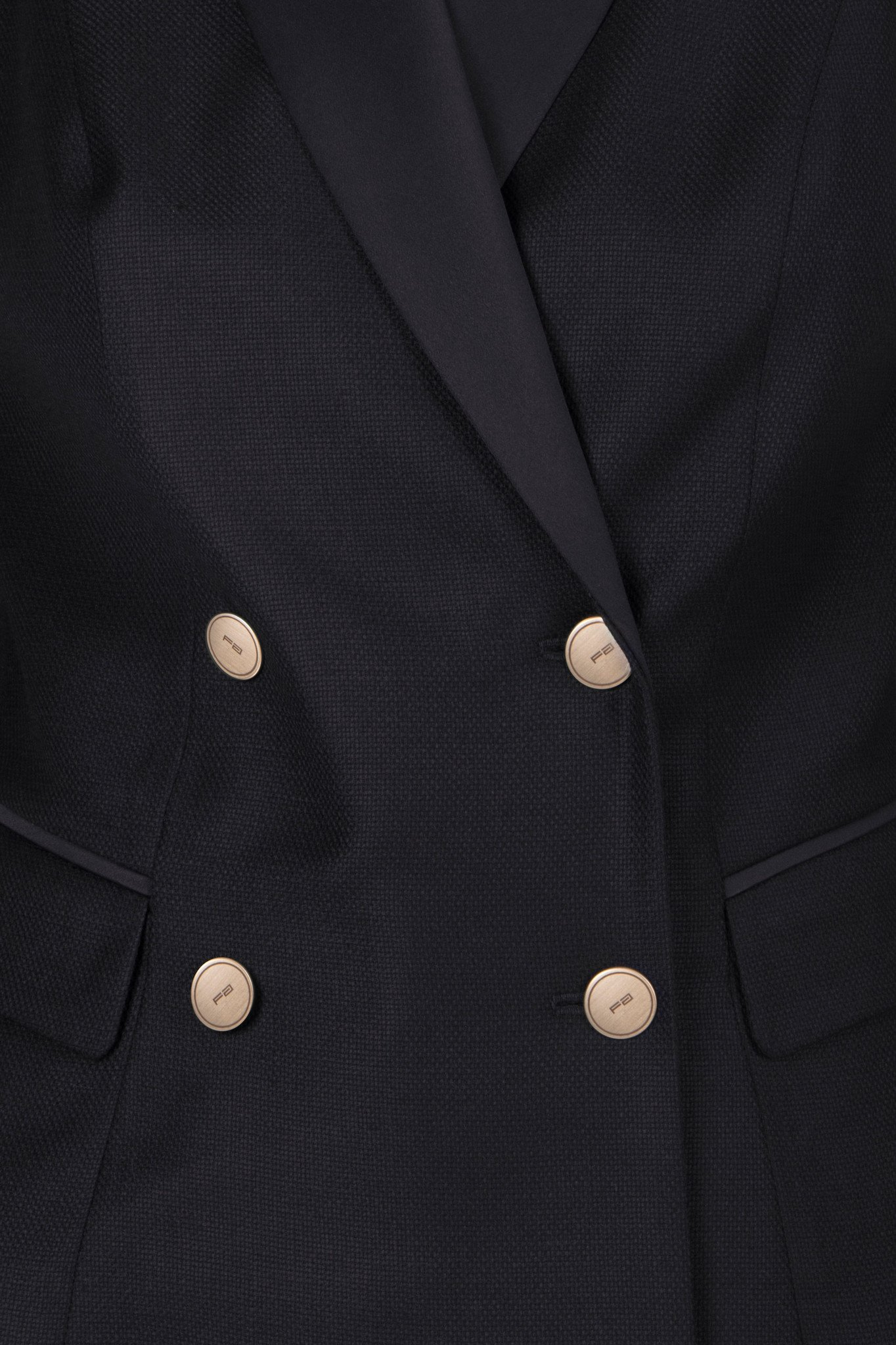 Double Trouble: Double-Breasted Wool Jacket